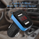 1pcs Dual Ports 2.1A USB Car Cigarette Charger Digital LED for iPhone Android