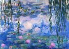 Art Print Poster / Canvas Water Lilies, 1919 by Claude Monet Giclee Fine