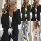 Women Knitted Sweater Long Jumper Overcoat Ladies Knitwear Top Cardigan Coat New