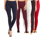 Women's Leggings Yoga Pants Premium Cotton Stretch Full Length-made in usa S-3XL