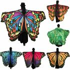 Beauty Lady Gamiss Women Soft Butterfly Wing Cape Scarf Long Wrap Shawl Scarves