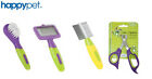 HAPPYPET SMALL ANIMAL GROOMING COMB BRUSH NAIL CLIPPERS SLICKER RABBIT GUINEA
