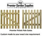 Bespoke Custom Made To Measure Solid Wicket Picket Pale Garden Wood Timber Gate
