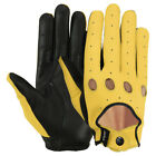 Ladies Driving Gloves Car Biker Rider Unlined Soft Genuine Leather Drivers Glove