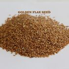 GROWN  ORGANIC GOLDEN FLAX SEED LINAZA FLAXSEED BULK Omega-3 NO chemicals