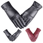 Luxury Women Girl Latest Fashion Leather Cashmere Winter Super Warm Lady Gloves