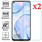 2Pcs For Huawei P40 P30 Lite P20 Pro P10 P Smart Tempered Glass Screen Protector