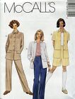 McCall's Sewing Pattern 8755 Misses' Unlined Jacket, Pants and Shorts Coordinate