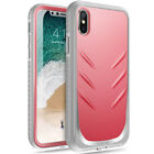 Poetic iPhone X iPhone Xs Revolution Full-Body Rugged Heavy Duty Case Cover Pink