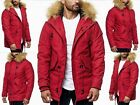 Exclusive Men Winter Parka Hoodie Young Fashion Style Fashion Fur Coat Jacket