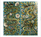 "DECORATIVE CANVAS/PAPER ""Panel"" William De Morgan choose SIZE, from 55cm up, NEW"