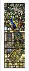 "DECORATIVE CANVAS/PAPER ""Tiffany glass window"" NEW choose your SIZE, from 55cm"