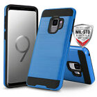 for SAMSUNG GALAXY S9/S9 PLUS, [Protech Series] Phone Case Cover +Tempered Glass