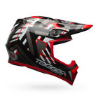 2017 Bell MX-9 ECE Helmet with MIPS - Double Trouble Black / Red Motocross Offro