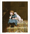 """BRITON RIVIERE """"Sympathy"""" animals CANVAS, PAPER choose your SIZE, from 55cm up"""