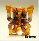 2Pcs Butterfly Hair Clips 1.5inch Jaw Clamp Accessory Woman HC Comb Claw