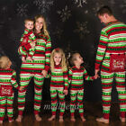 Christmas Family Matching Pajamas Baby Kids Adult Men Women Sleepwear Nightwear