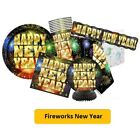 FIREWORKS NEW YEAR Party Range - Tableware Balloons & Decorations (Unique)