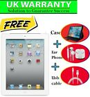 Apple iPad 2 2nd Generation 16GB 32GB 64GB Wi-Fi  3G Unlocked 9.7&quot; EXCELLENT <br/> FREE Usb Cable +Case+UK WARRANTY