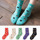 Fashion Cute Women Girl 3D Animal Cartoon Cat Soft Winter Cotton Warm High Socks