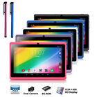 "7"" Tablet Pc Quad Core Google Android 4.4 Kitkat Wifi 16gb Hd Dual Camera Mp4"