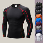Mens' Compression Tight Skin Long Sleeve Shirt Fitness Bodybuilding  Tops