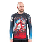 Fusion Fight Gear Army Of Darkness Hail To The King Long Sleeve Rashguard - Gray