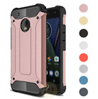phones 4us - For Motorola MOTO E4 (US) Case Rugged Armor Shockproof Protective Phone Cover
