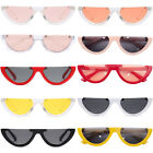 Fashion WomenTriangle Half Frame Without Frame Retro Sunglasses Super Cool