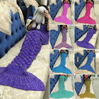 Fashion Mermaid Tail Super Soft Blanket &Knitting kids Adult Sofa Sleeping Bag