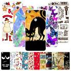 For ZTE Nubia Z11 NX531J Christmas Plastic Case Cover 2018 New Year Tower Cat