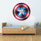 Captain America Shield Superhero Kids Boy Girls Marvel Avengers Bedroom Decal W