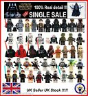 Star Wars Minifigure Rogue One Force Awakens Rex Luke BB8 Mini Figure Fits Lego £1.99 GBP