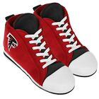 Atlanta Falcons High Top Sneaker SLIPPERS New - FREE U.S.A. SHIPPING
