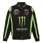 2017 Authentic Kurt Busch Monster Energy Cotton Jacket JH Design Free Shipping