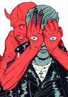 Queens of the Stone Age Poster QOTSA New 2017 Villains FREE P+P CHOOSE YOUR SIZE