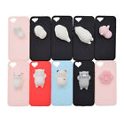 3D Soft Squishy Silicone Animals Kneading Phone Cover Case For Iphone 5/5s/se