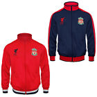 Liverpool FC Official Football Gift Boys Retro Track Top Jacket