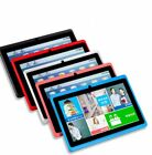 7'' Tablet PC Children Mic Wi-Fi Android 4.4 Quad Core 512M+8GB HD Touch Screen