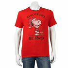Snoopy Woodstock Christmas T-Shirt Adult size Large New w/Tag