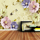 3d tv prices - New Floral Modern Style 3d Wall Decor TV Background Wallpaper Mural Living Room