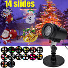 Christmas Projector Light Moving LED Laser Lamp Lanscape Snowflake Indoor Xmas