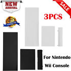 3pcs Memory Card Door Slot Cover Lids Replacement for Nintendo Wii Game Console
