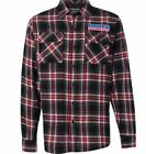 Throttle Threads Parts Unlimited Mens Flannel Shirts Red Plaid