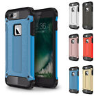 Dual Layer Rubber Hybrid TPU Armor Shockproof Hard PC Case Cover For iPhone 8