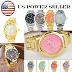 USA Luxury Women Men Stainless Steel Analog Quartz Wrist Watch Factory Cheap SF image