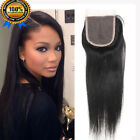 """7A Frontal Lace Closure 100% Unprocessed Virgin Human Hair  4x4"""" 13""""x4"""""""