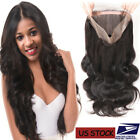 9A Virgin Human Hair 100% Unprocessed Frontal Lace Closure MY Wavy Straight US