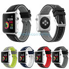 Replacement Silicone Sport Bracelet Strap Buckle Clasp Fr Apple Watch Band 3 2 1