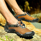 Mens Mesh Breathable Water River Sports Shoes Trail Hiking Outdoor Hot Snekaers